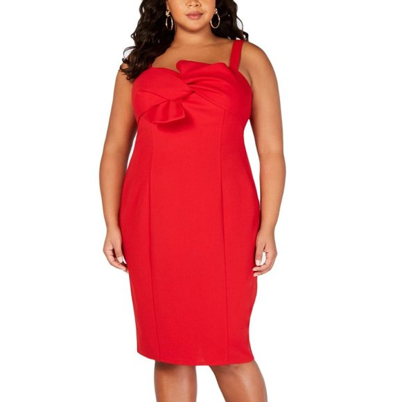Love Squared Bow-Front Dress